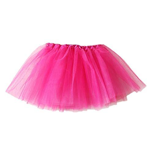 ShaDiao Madchen Kurz Retro Petticoat Rock Ballett Blase 50er Rockabilly Petticoat Tutu Unterrock Abendkleid Tanzkleid Ballett Ballkleid Gelegenheit Zubehör