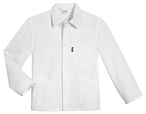 Uvex Whitewear 125 Herren-Arbeitsjacke - aus 100% Baumwolle - Gr 52