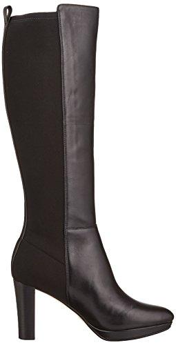 Clarks Kendra Glove, Bottes hautes Classiques Femme Noir (Black)