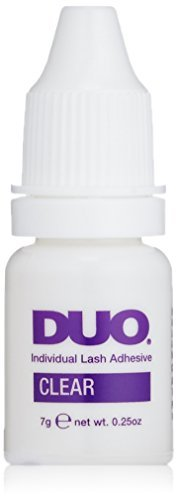 Duo Individual Lash Adhesive Clear 0.25oz by Ardell (Ardell Duo Lash Adhesive)