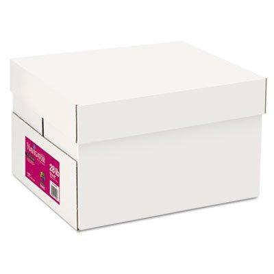 Platinum Papier, 99Helligkeit, 12,7kg, 12x 18, weiß, 2500/Carton, verkauft als 5Ries