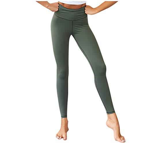 Setsail Solide Bequeme Sport-Gamaschen der Art- und WeiseDamen beiläufige elastische hohe Taillen-Eignungs-Yoga-Hosen Marine High Bib Overall