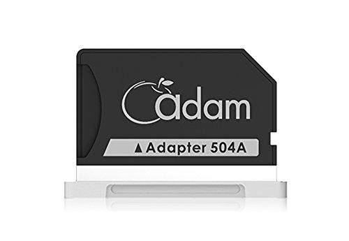 Adam Elements ADRAD0G504ASL Adapter für MacBook Pro Retina, 38,1 cm (15 Zoll) Retina (Ende 2013), silberfarben - Sandisk Tasche