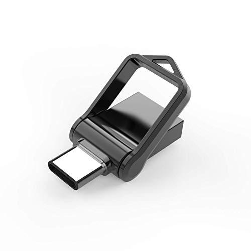 KEXIN Memoria USB 128GB 3.0 Tipo C Pendrive USB Metal