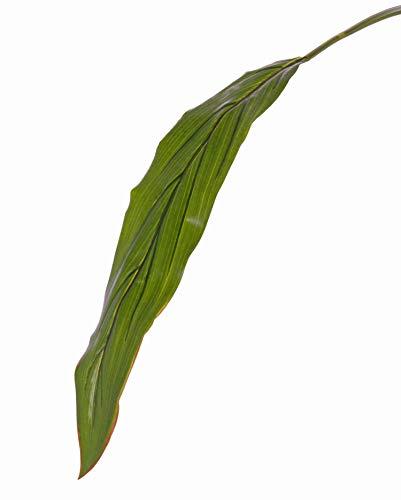 artplants Set 24 x Kunst Keulenlilien Blatt Elara, grün, 90cm