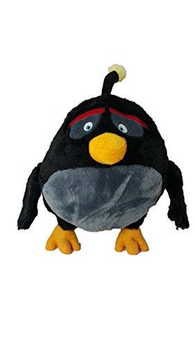 "Angry Birds - Bomb Black Bird Plush - Movie - 28cm 11"""