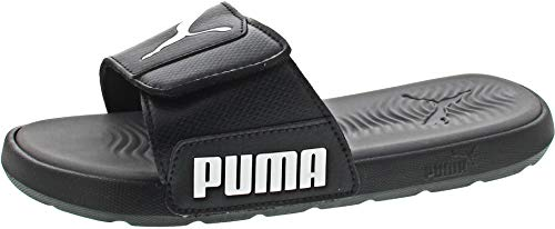 Puma Herren Badeschlappen Starcat Tech 372024 Puma Black/Castlerock 43