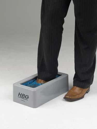 Neue automatische Überschuhe walk-through Schuh Schutz Dosiersystem & Refill, PVC, , Anti-Slip Refill 50 Pair