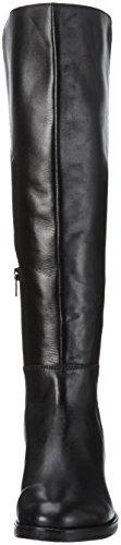 Bianco 31-49071, Stivali alti con imbottitura leggera Donna Nero (Black/10)