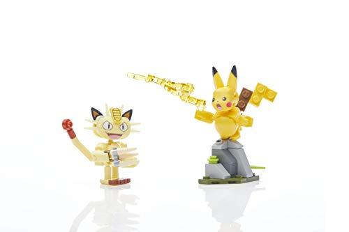 Mega Construx Pokemon Pikachu and Meowth Showdown