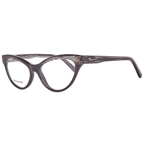 Dsquared2 Damen Brille DQ5159 005 54 Brillengestelle, Schwarz