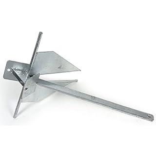 wellenshop® Anker Danforth Plattenanker 4 kg