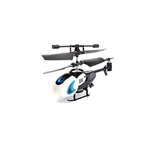 SSBH Sport Flugsteuerung Hubschrauber Fernbedienung Flugzeug 2 Kanal Eingebauter Kreisel Anti-Kollision RC Drone Hubschrauber Outdoor Erwachsene Indoor Spielzeug for Kinder Teenager Geschenke Flugmodu