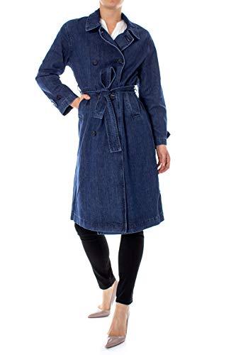 Levi´s ® Damen Mantel Jeans Denim Trench Coat Authentic Stonewash L
