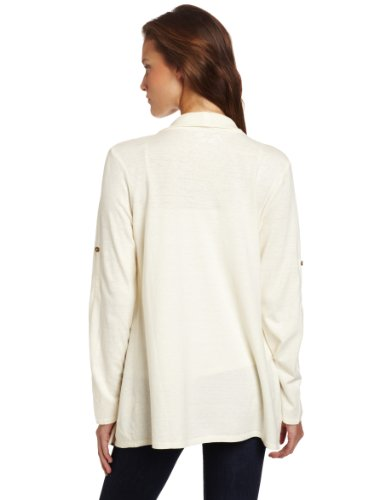 Royal Robbins Nuevo Damen Cardigan Shirt Cremefarben