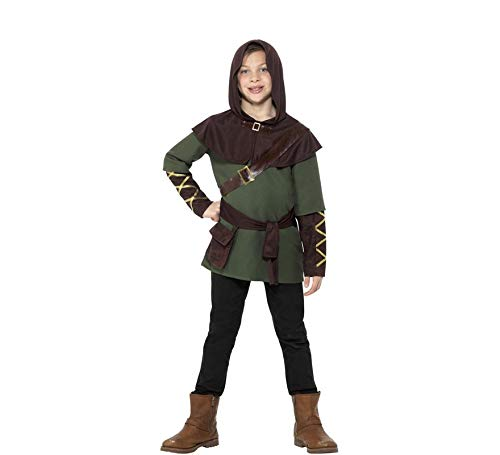 Smiffys Robin Hood Boy Kostüm Größe M Kinder Karneval Fasching Carnival 47646 (Robin Hood Kid Kostüm)