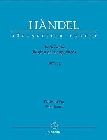 Rodelinda regina de Longobardi: Klavierauszug (dt/it)