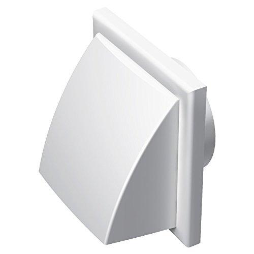 Blauberg-britannique-Dcor-185-x-185150hk-Blanc-150-mm-152-cm-Round-Plastique-Conduit-et-fixations-pour-extracteur-dair-Ventilation–Blanc