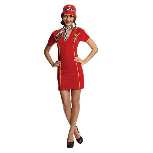 Christy 's Erwachsenen Kostüm Racing Girl (Größe ()