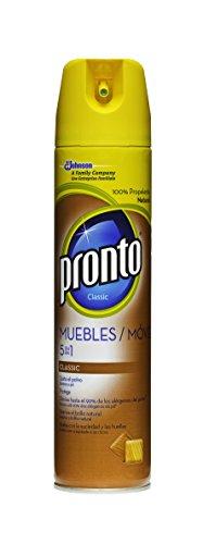 Pronto - Muebles - Limpiador aerosol - 300 ml - [pack de...
