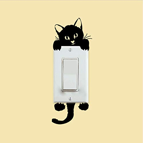 YS753 Kätzchen wechseln Subventionen EIN Wohnzimmer Dekoration Schlafzimmer Wand Dekor kleben an Windows Kühlschrank Aufkleber