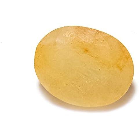 Be You 4.99cts Giallo Colore Sfaccettato Ovale Forma Naturale Ceylon Zaffiro giallo - Ceylon Sapphire