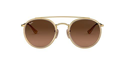 Ray-ban 0rb3647n occhiali da sole, oro (gold), 51 unisex-adulto