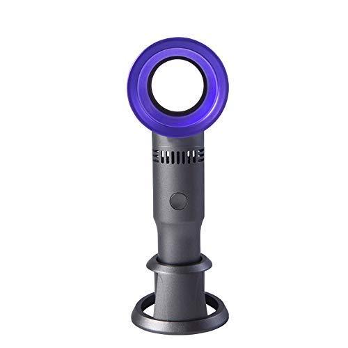 GLXLSBZ Mini Ventilator Handventilator, Kleine Kühlung USB Wiederaufladbarer Ventilator Batteriebetriebene tragbare elektrische Ventilatoren mit Wasserspray