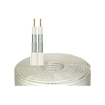 DOUBLE CABLE COAXIAL TWIN STRONG 100 M