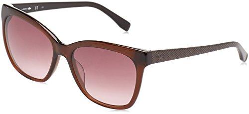 Lacoste l792s_210, occhiali da sole donna, marrone, 56