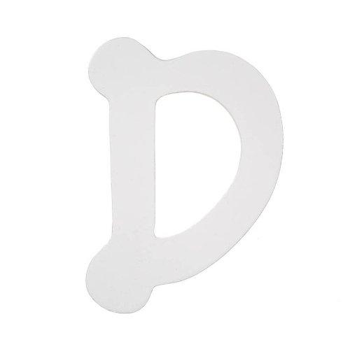 Darice 9185-d Holz Buchstaben, Dot to Dot D, weiß, 12,7cm (Buchstaben Holz Darice Aus)