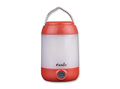 Fenix Unisex- Erwachsene CL23 Taschenlampe, rot, 8,5 cm