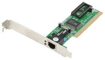 Scheda di rete LAN PCI network card 10 / 100 Mbps