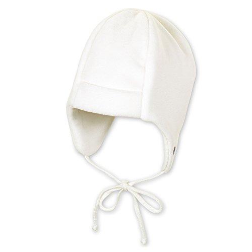 Sterntaler Baby - Mädchen Mütze 4501410, Gr. 45 cm, Beige (ecru 903)