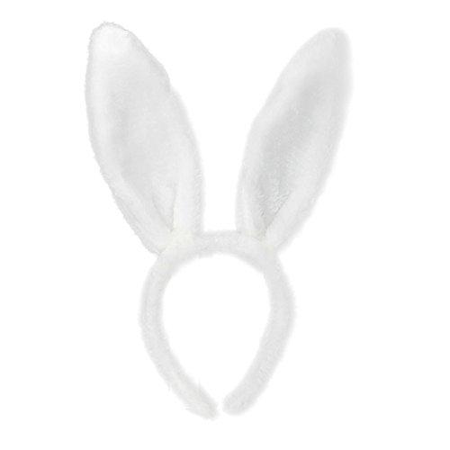 dult Hairband Rabbit Ear Bunny Ohren Stirnband Kaninchen Ohren Ostern Kostüm Verkleidungen Bunny Kostüm Weiß Rosa Haarband Kopfbedeckung Zubehör Stirnbänder Kopfban 2019 ()