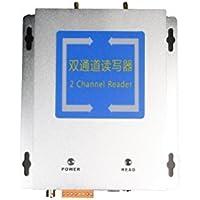 Lector de 2 canales UHF RFID JT-9230 con múltiples etiquetas pequeñas de lectura con frecuencia de 860~930 MHz