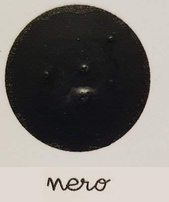 Lavagna Paint Mille colori - Pittura effetto lavagna con Gessetti - Colore Nero - Adatto per tutte le superfici! - da 500 ml - Confezione per 3,5 MQ in 2 mani!