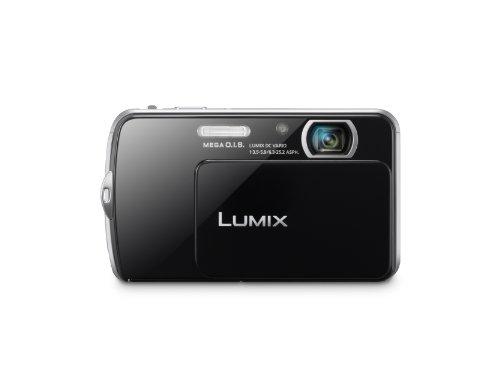 Panasonic Lumix DMC-FP7 16.1MP Point and Shoot Camera (Black) with 4x Optical Zoom