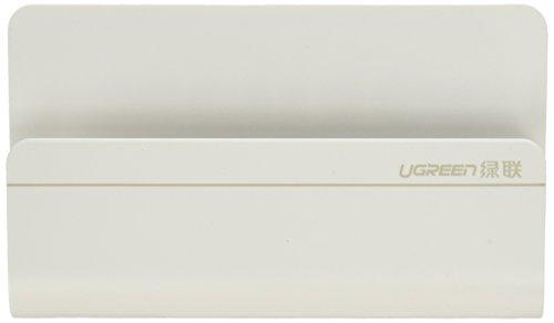 Preisvergleich Produktbild UGREEN Ladehalterung Handy Wandhalterung Handyhalterung für iPhone X/8 Plus/8, Samsung S8 plus/S8/S7/A5, Huawei mate10/9/P9/P10/P8, LG, Google Pixel, iPad miniWeiß