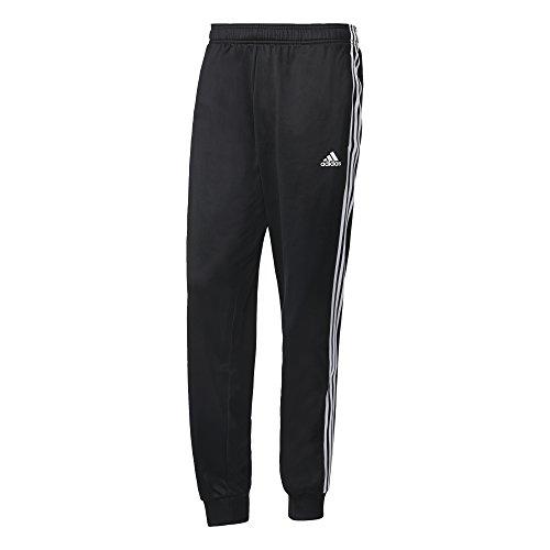 adidas Herren Essentials 3 Streifen Hose Black/White M