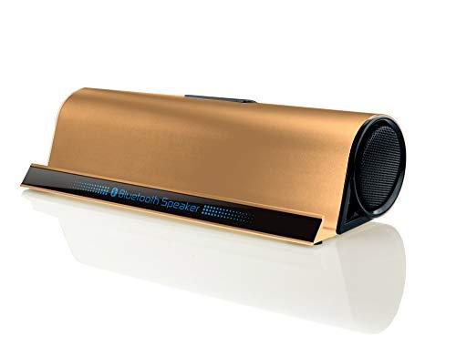 ERKEJI Altavoz Bluetooth Aluminio Impermeable y Resistente al Polvo Altavoz Bluetooth Soporte...