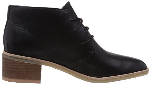 Clarks Originals Phenia Carnaby Damen Derby Schnürhalbschuhe Schwarz (Black Leather)