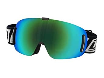Dirty Dog Goggles 54141 Black Blizzard Goggles Lens Mirrored