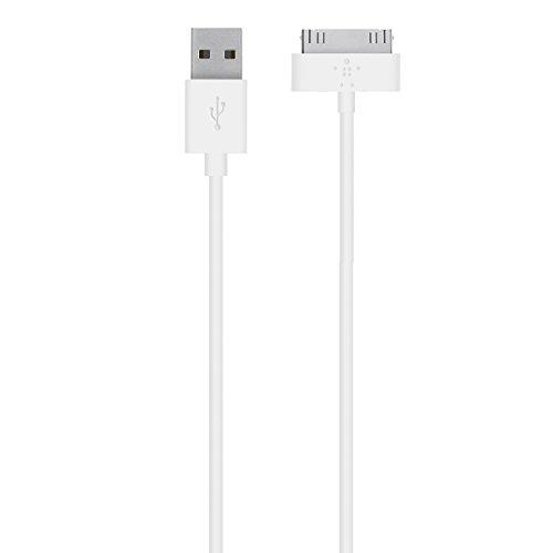 Belkin 30-Pin Lade/Sync-Kabel geeignet für iPhone 4/4s, iPad 2 Weiß 5g 6. Generation Iphone