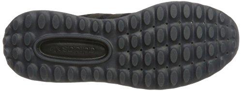 adidas Angeles, Scarpe da Ginnastica Basse Uomo Nero (Core Black/core Black/core Black)