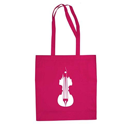 Sherlock Violin - Stofftasche / Beutel Pink