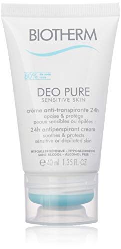 Biotherm - Pure Sensitive Deodorant Cream -