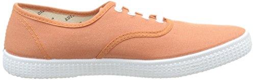 Victoria Inglesa Toile, Unisexe Sneaker-adult Arancione (140 Melocoton)