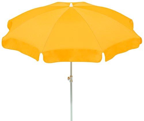 Schneider Sonnenschirm Ibiza, goldgelb,  ca. 200 cm Ø, 8-teilig, rund
