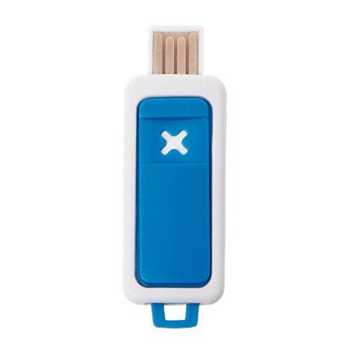 Manyo Mini Diffusore di olio essenziale portatile, USB, Umidificatore Aromaterapia blu